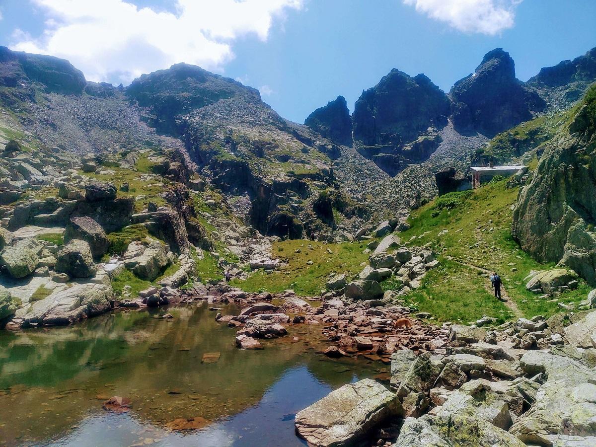 Страшното езеро в Рила